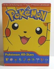 Pokemon: All Stars Box Set 2 (DVD, 2009, 10-Disc Set)