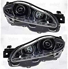 Bi-Xenon Led Afs Headlight Front Lamp Set Fits Jaguar Xj Sedan Awd 2010-