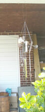Handmade Vintage lock set Wind chime for garden, porch, door skeleton key mobile