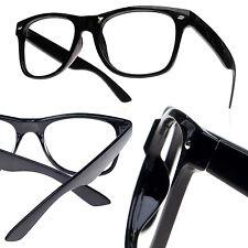 Women Men Black Frame Glasses Without Lens !! Fashion Fun Party LA