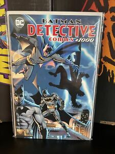 DETECTIVE COMICS 1000  DYNAMIC FORCES LIMITED SERIES  WRAPAROUND VARIANT W/COA.