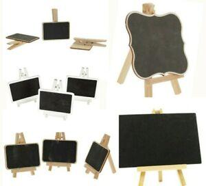 Mini Wooden Blackboards Chalkboard Craft Wedding Choice of Styles