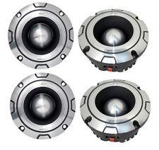 4) NEW LANZAR OPTIBT44 2400W Optidrive Heavy Duty Aluminum Super Bullet Tweeters
