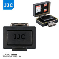 JJC Camera Battery Case SD Memory Card Case for Sony NP-FW50 a7 a7s a6300 a6000