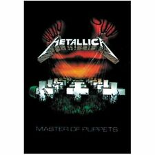Official Metallica - Master Of Puppets - Textile Poster Flag 110cm x 75cm