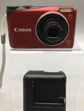 Canon PowerShot A2200 14.1MP Digital Camera - Red - Fast Ship - A08