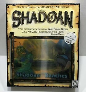 Kingdom II Shadoan Reaches PC Game. RARE  New Sealed