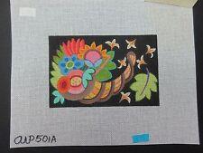Ann Wheat Pace: Abundance, 501A Hand Painted Needlepoint Canvas  SQ
