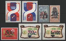 Sierra Leone 1971 - Mi-Nr. 527-528 & 529-533 ** - MNH - 2 Ausgaben