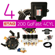 COMPLETE AUTOGAS CONVERSION KIT STAG 200 GO FAST 110kW/150HP,TANK & ALL FITTINGS
