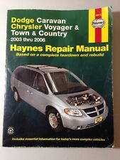 Dodge Caravan, Chrysler Voyager & Town & Country 2003 thru 2006 (Haynes Repai…