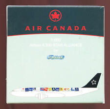 1:600 SCALE DIECAST METAL AIR CANADA/STAR ALLIANCE AIRBUS A330 by SCHABAK