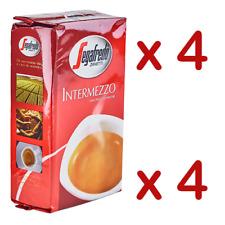 4 x SEGAFREDO INTERMEZZO 250g Coffee ground Italian espresso caffè Zanetti