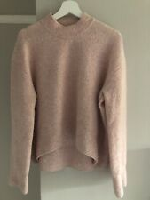Cos (&Other Stories Style) Pink Mock Neck Sweater UK10