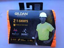 Gildan Safety WorkWear DryBlend 2 T-Shirts with Pocket, 3XL