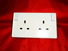 One to Two Gang Switched Socket 13AMP - 250V Adaptor Converter