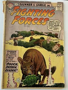 Our Fighting Forces #59 Vintage D.C. Comics Gunner & Sarge 1961
