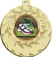 50 mm Cross Country Medals With FREE Ribbon and free engraving up to 30 letters