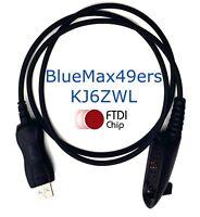 FTDI USB Programming Cable + Support Motorola HT1250 HT1250LS GP328