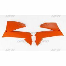 UFO KTM Supermoto Radiator Rad Covers 660 SMC & 640 LC4 2004 - 2007 Orange