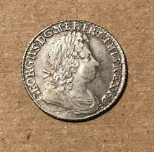 Great Britain - 1723 Silver Shilling - George - Nice Coin