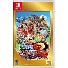 Nintendo Switch Game - One Piece Unlimited World R Deluxe Edition W/ English