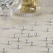 MATT SILVER TABLE PEARLS -Tableware, Decoration, Confetti, Wedding Venue Deco