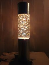 Vintage 1970's French Fast Flowing Glitter Lava Lamp Like Mathmos/Crestworth
