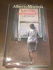 """Libri/Riviste/Giornali""""LA VILLA DEL VENERDI'""""Moravia / Bompiani"""
