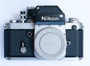 Vintage Classic Nikon F2 Camera Body 1974 Very Nice Condition