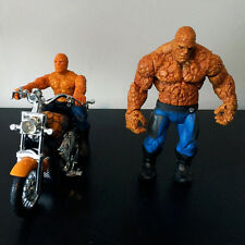 Fantástico 4 (2005) 2x la cosa figuras (Moto & Clobberin 'Time)