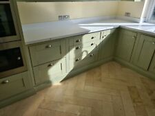 Kitchen Units With Doors & Corian Worktops