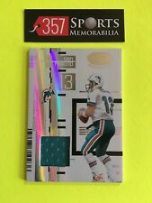 DAN MARIO 2005 LEAF CERTIFIED MATERIALS MIRROR WHITE GAME USED JERSEY #D /175 SP