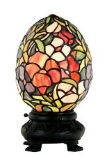 Huevo tradicionales de Tiffany Lámpara de mesa de dragón