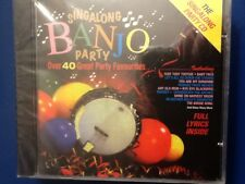 SING A LONG.  BANJO.  PARTY.              OVER. FORTY. GREAT. PARTY. FAVOURITES