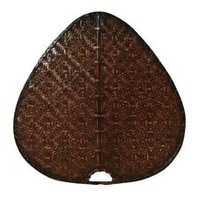"""Fanimation 22"""" Blade, Wide Oval Bamboo, Antique, Set of 5 - ISD1A"""