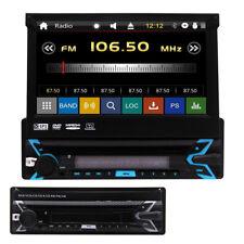 7 Inch Single 1Din Touchscreen Car Radio CD DVD Player Bluetooth GPS Navi Stereo