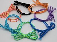 30 Mixed Color Stripe Bows Elastic Hair Rope Bands Ponytail Holder for Girls