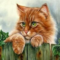 Cat Full Drill DIY 5D Diamond Painting Home Decor Embroidery Kits Crafts Gifts