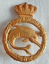 Insigne Brevet Italie Sous Marin doré SOMMERGIBILI ITALIAN SUBMARINE BADGE