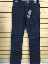 Fourstar Clothing Men Buttom Down Dark Blue Straight Leg Jeans Sz W 28x32 Malto