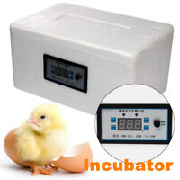 Automatic Family Egg Incubator Digital Chicken Duck Poultry Hatcher Tray