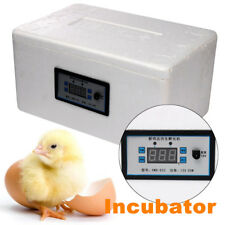 Automatic Family Egg Incubator Digital Chicken Duck Poultry Hatcher Tray  UK