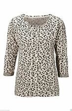 Women's 3/4 Sleeve Plus Size Cotton Blend Jumpers & Cardigans