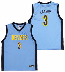Outerstuff NBA Youth 4-18 Denver Nuggets Ty Lawson #3 Player Jersey