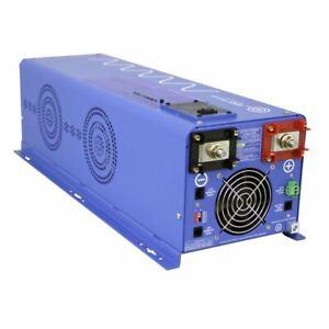AIMS 4000 Watt Pure Sine Inverter Charger 12Vdc / 120Vac Input & 120/240Vac Spli