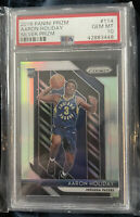 2018 Panini Prizm AARON HOLIDAY SILVER Prizm RC PSA 10. Popular card in China!