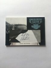 1/1 DON HUTSON HOF GREEN BAY PACKERS Autograph 2011 Gridiron Cuts (Deceased)