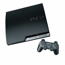 SONY PLAYSTATION PS3 SLIM CONSOLE 160GB BLACK, BLU-RAY PLAYER, GREAT CONDITION!