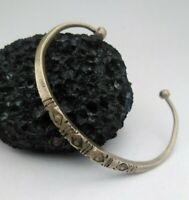 Extremely Very Stunning Authentic RARE Bracelet Bronze Color Silver Style Viking